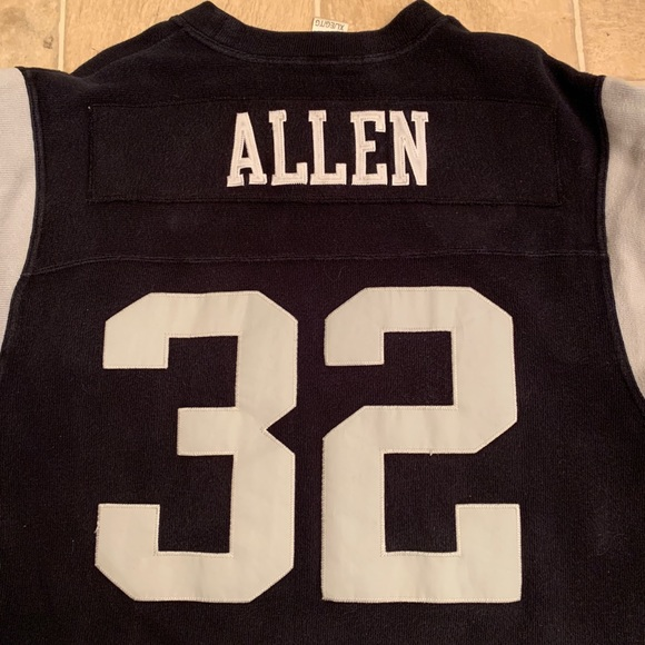 timeless design 5bc7e 624fb RARE Vintage Marcus Allen Throwback Raider Jersey